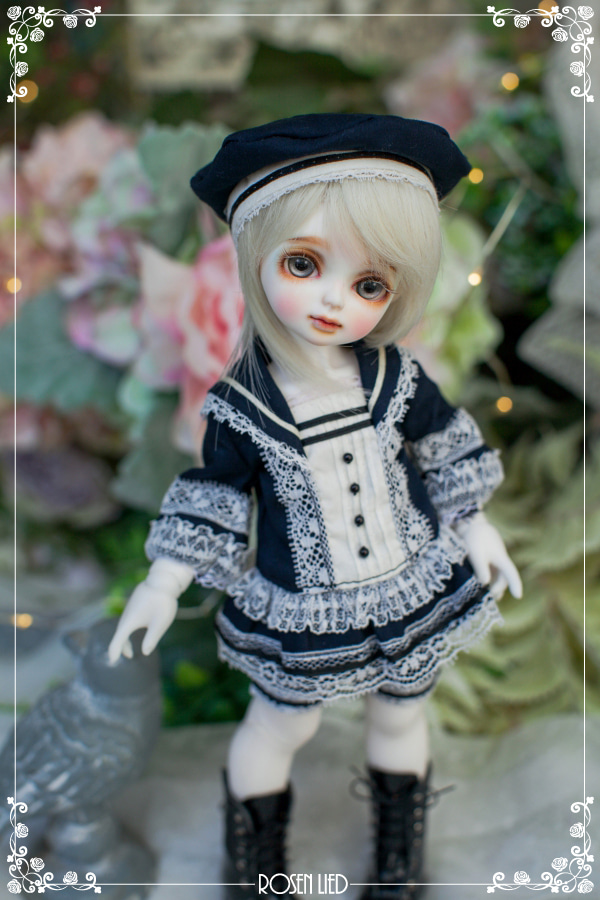 Sailor suit for boy (Navy)