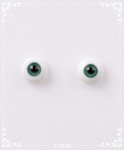 REG311 12mm Glitter green (New glass)