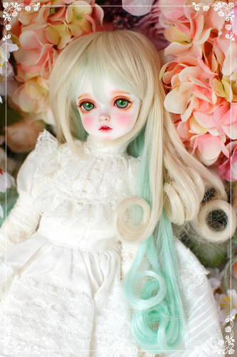 Candy pop (New HRF - Blond + Mint)