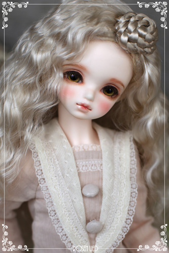 RWW-093 Bagel hair wig (Blond)