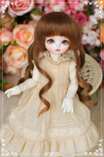 Twin tail (New HRF - Warm Brown)