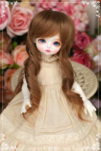 Girlish curl wig (New HRF - Warm Brown)