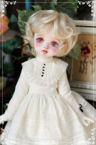Lovely perm wig (New HRF - Blond)