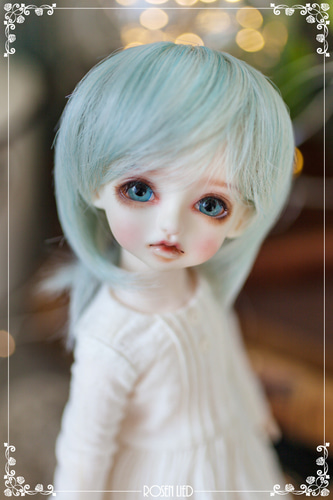 Pastel Short cut (Mystical green)