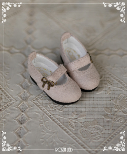 Suede shoes (ivory)