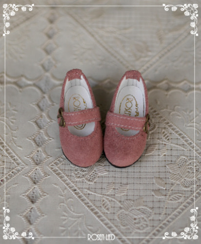 Suede shoes (indigo pink)