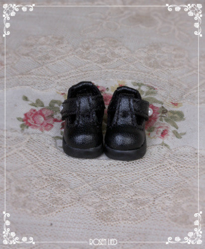 Black Baby Shoes