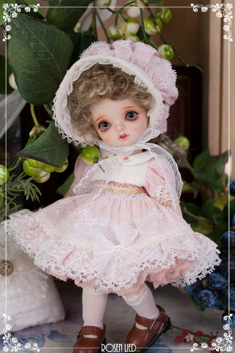 Limited Dress : Pink macaron